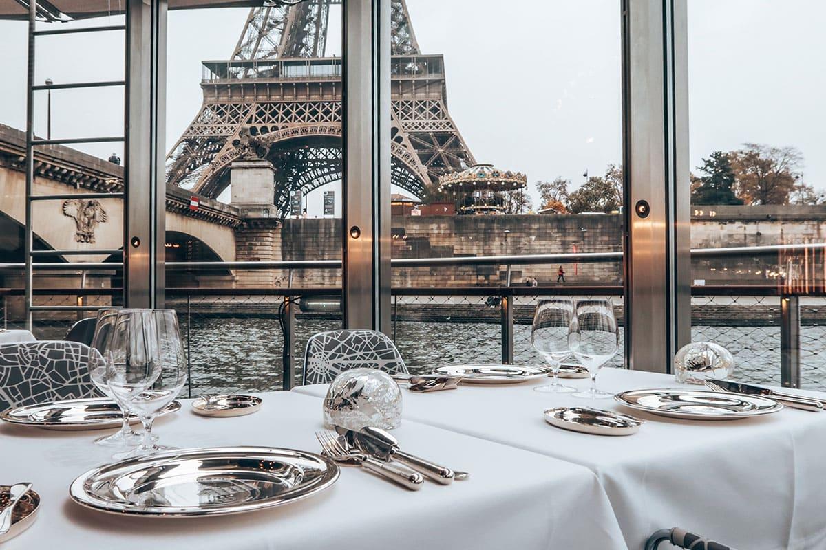Rondvaart Seine Parijs