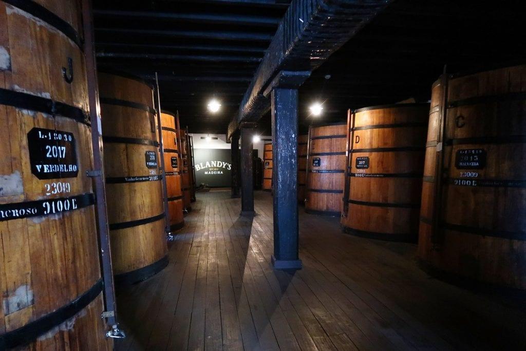 Wijnmaker Blandy Madeira
