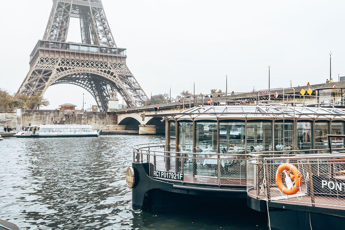 Boottocht Seine Parijs