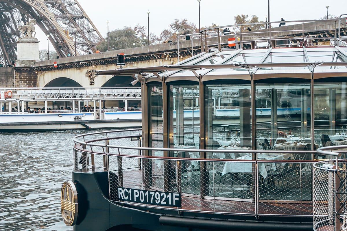 Luxe cruise Seine Parijs