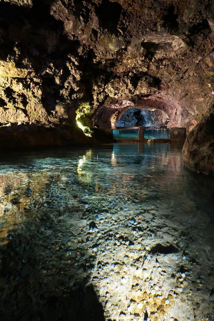 São Vicente grotten Madeira