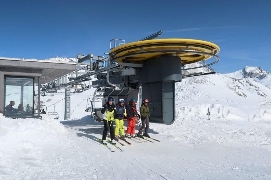 Skilift in Kühtai