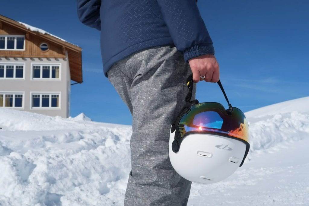 Snowboarden in het Oostenrijkse Kühtai