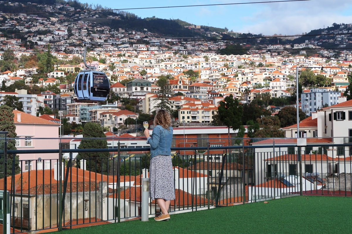 Viewpoints Funchal rooftop bar