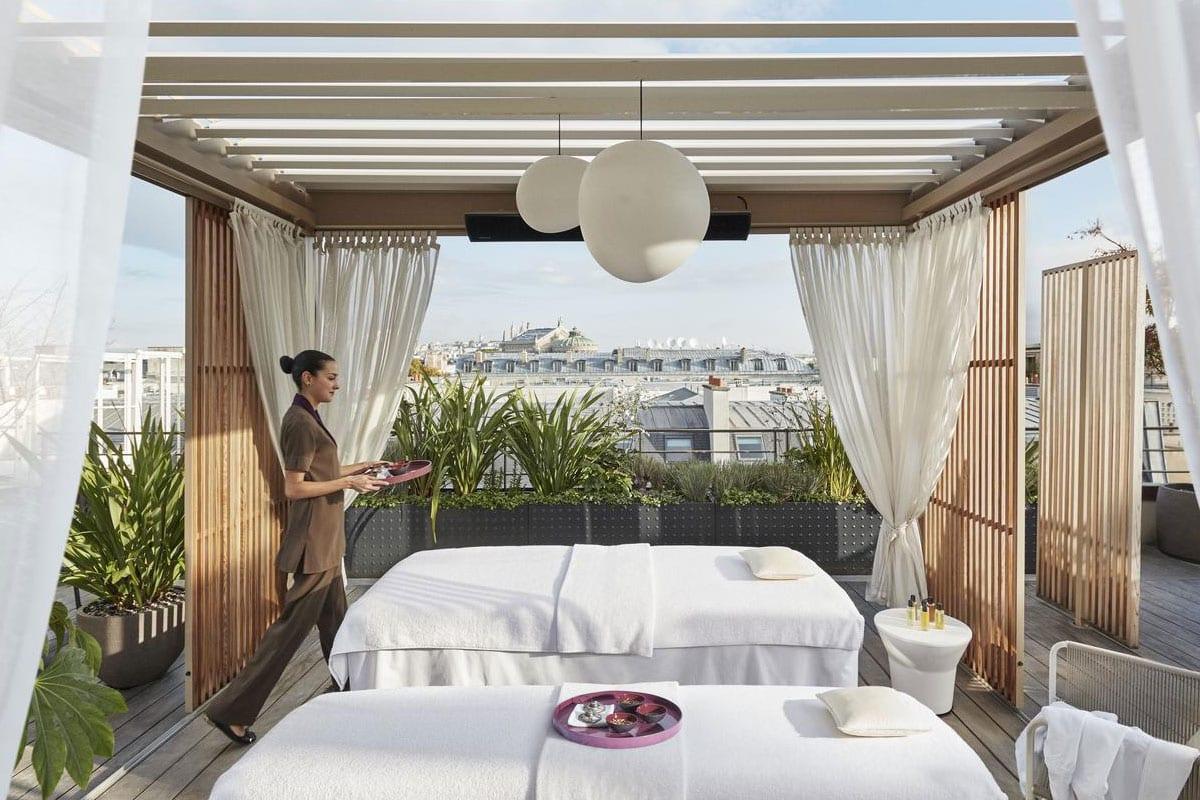 Romantisch hotel in Parijs