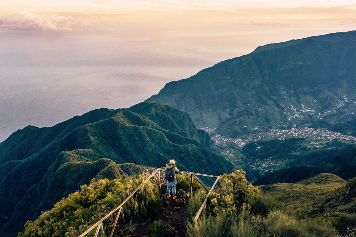 Pico Ruivo Viewpoint Madeira