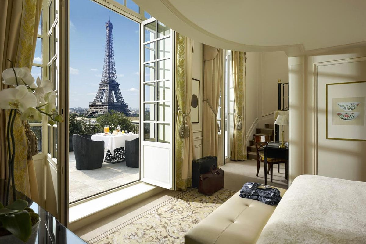 Mooiste hotels in Parijs - Shangri La Hotel