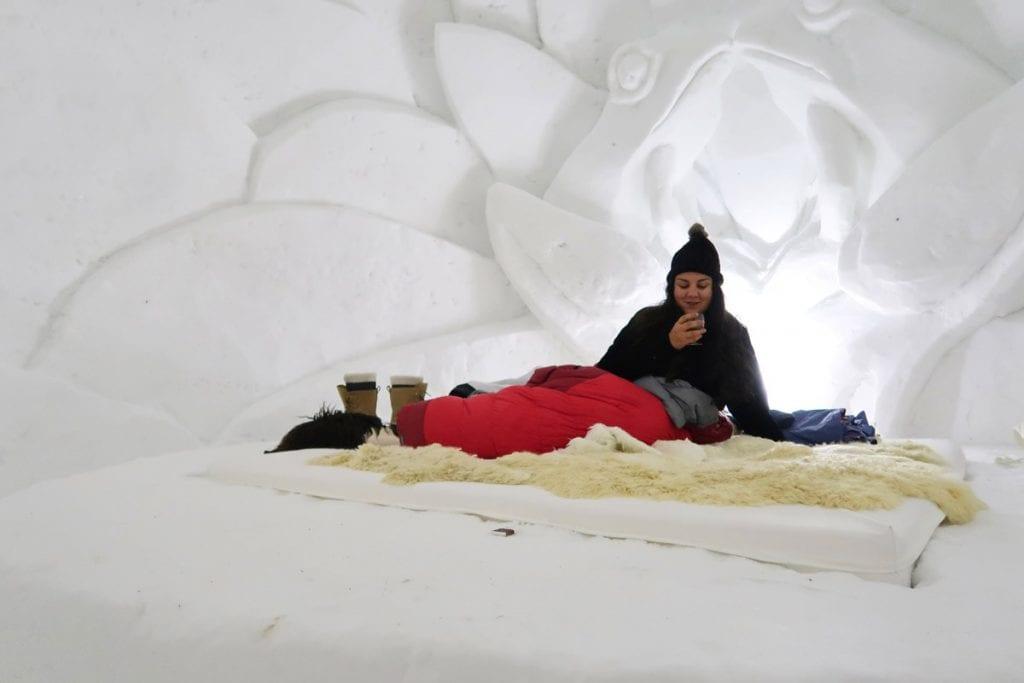 Slapen in een iglo in Oostenrijk