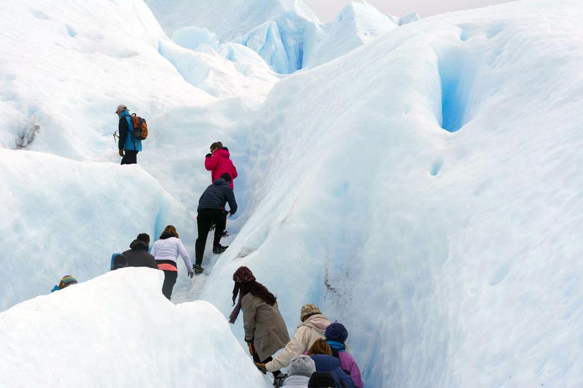 Patagonië gletsjers hiken expeditie