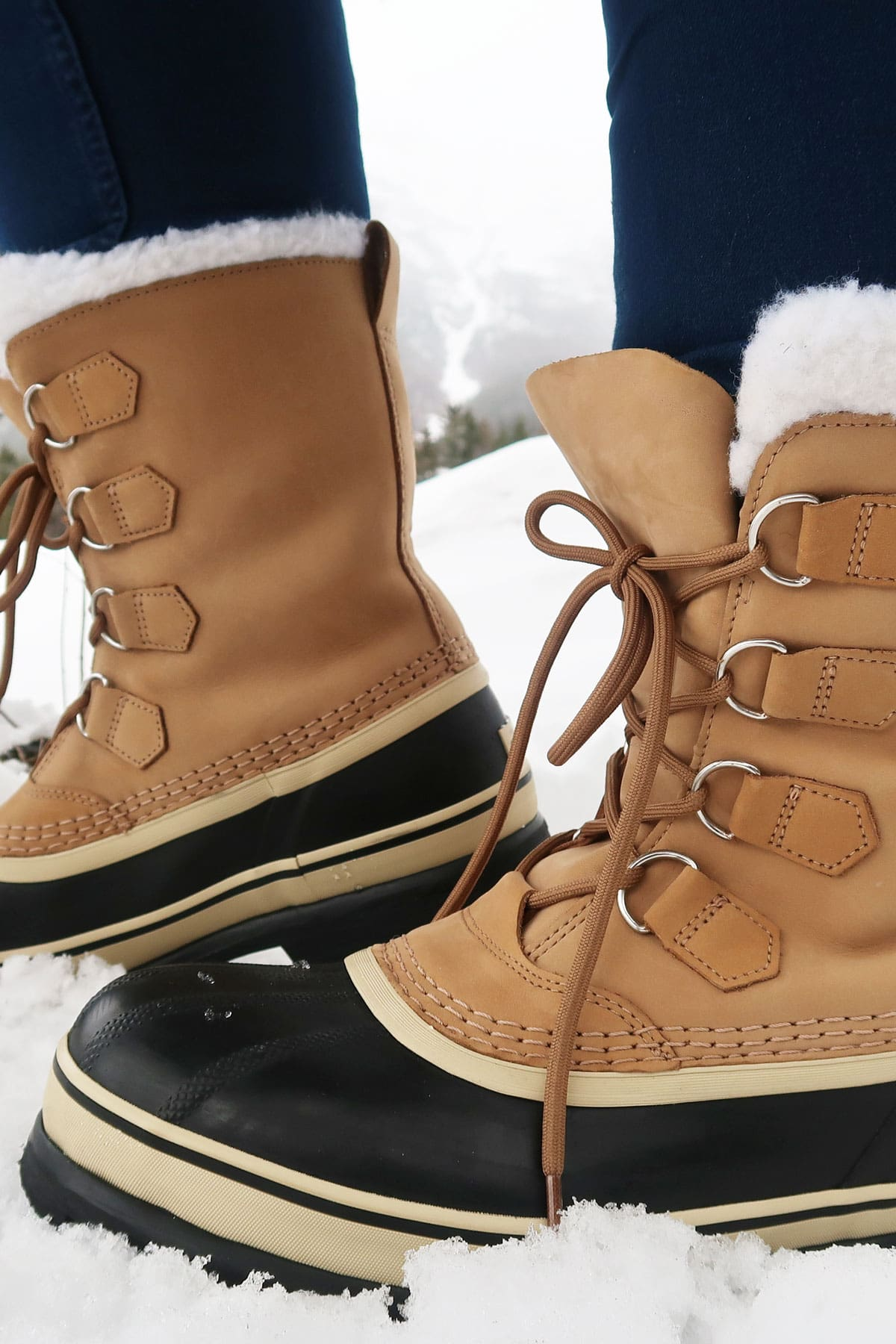 Sorel Caribou Snowboots Beige