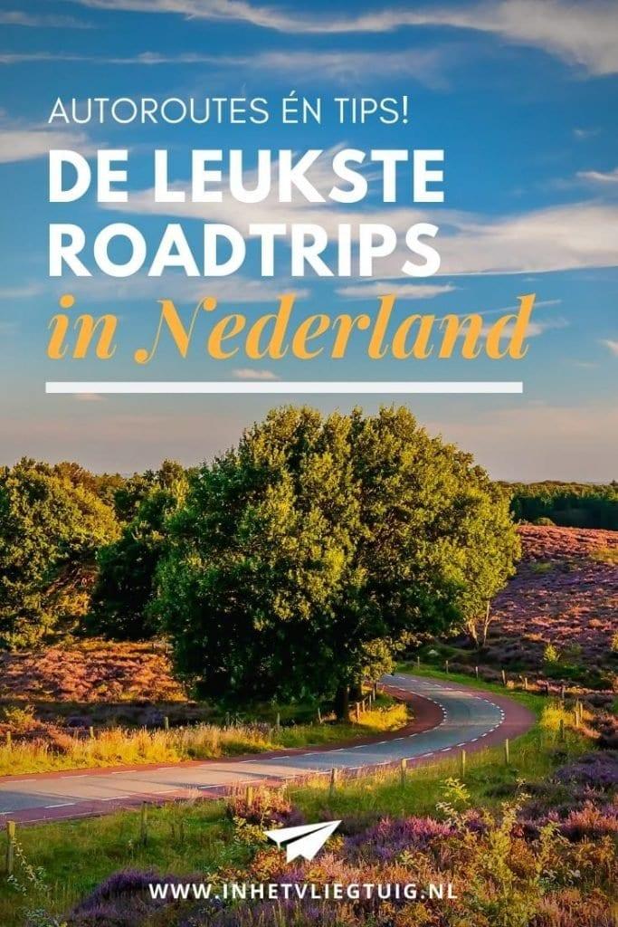 De mooiste autoroutes in Nederland voor een leuke roadtrip