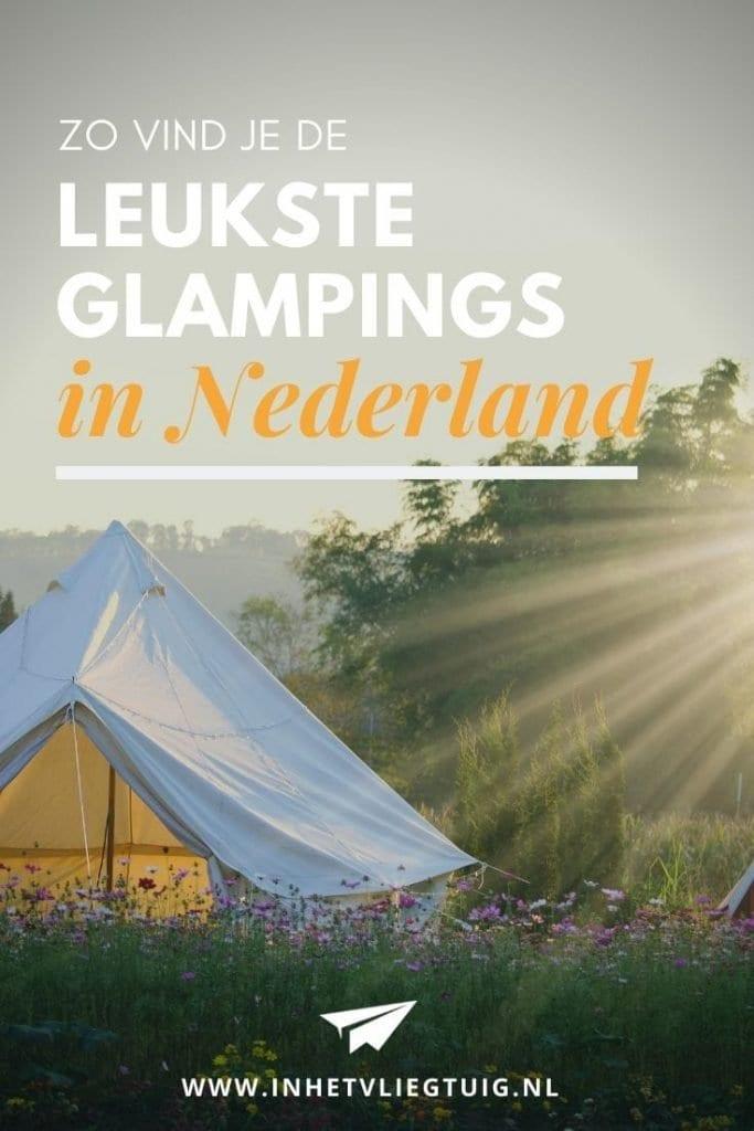 Luxe kamperen in eigen land - Dit zijn de leukste Glampings in Nederland