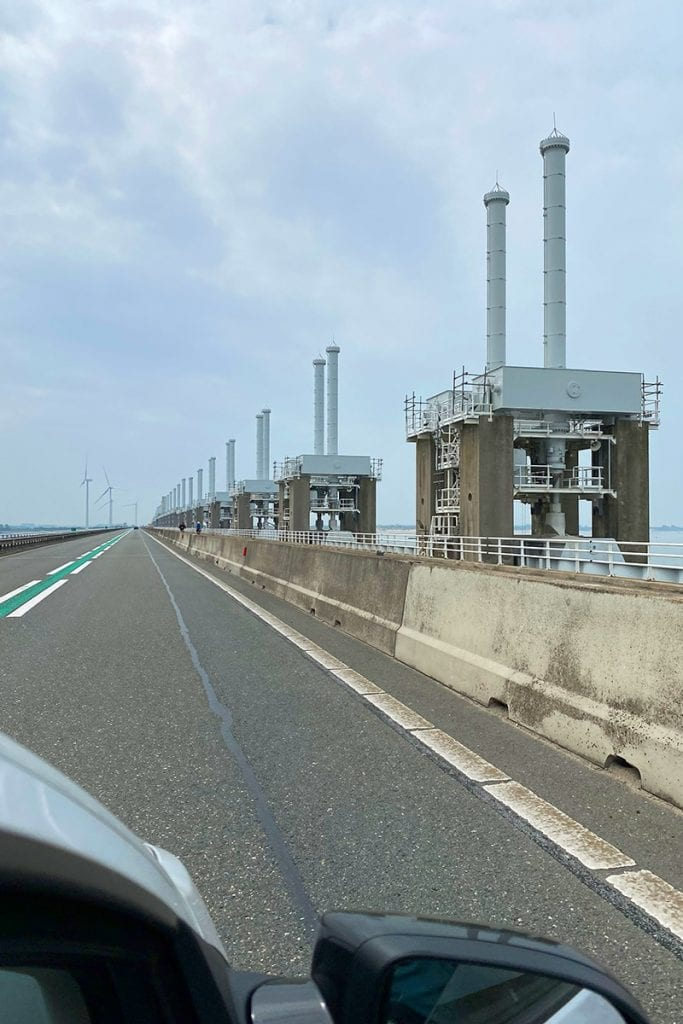 Autoroutes Nederland - Deltawerken in Zeeland