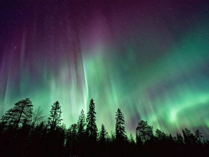Noorderlicht in Finland