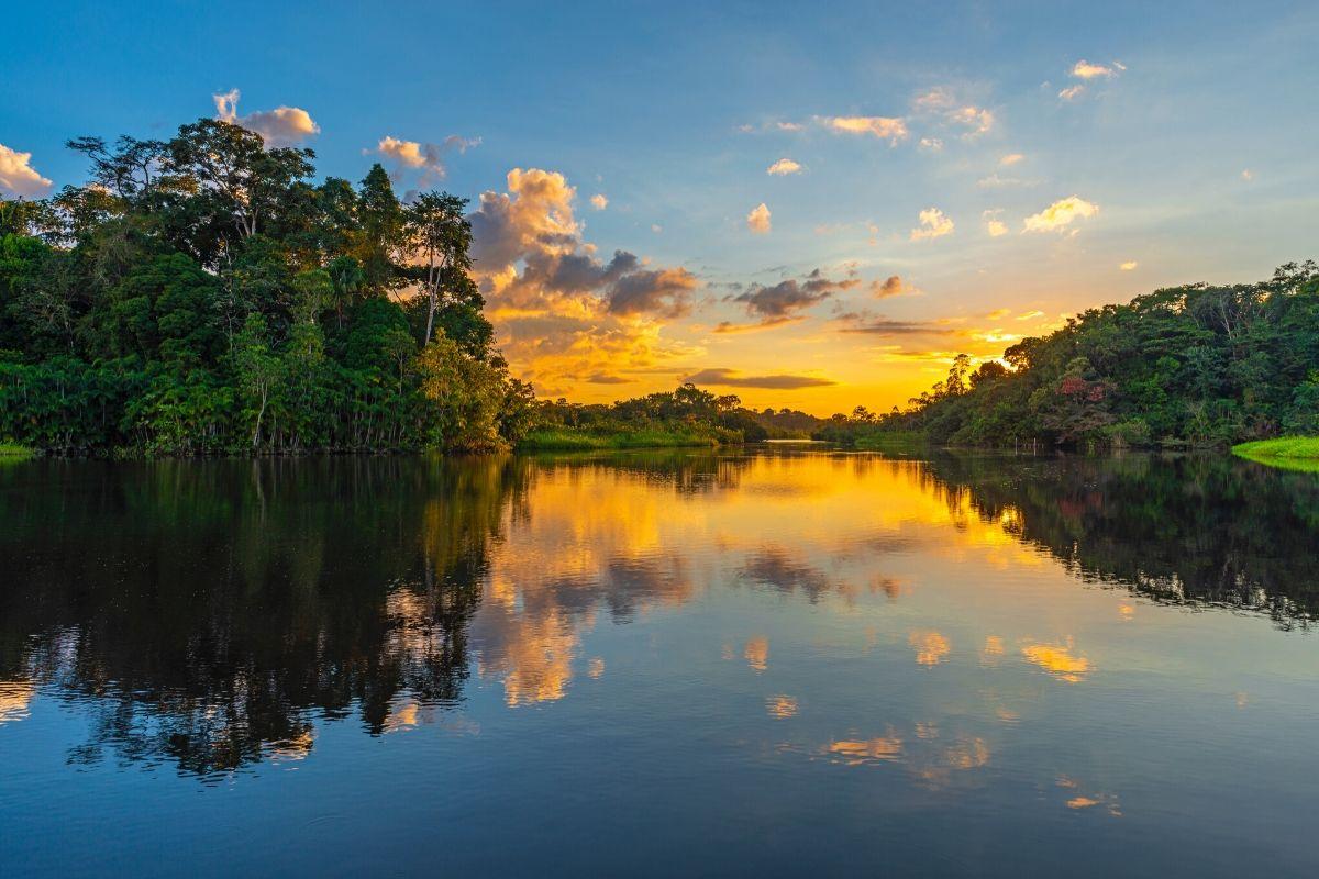Meer in de Amazone