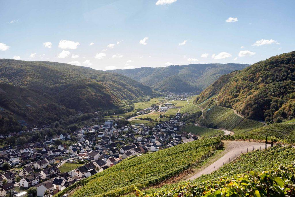 Wijnstreek Ahr in Duitsland