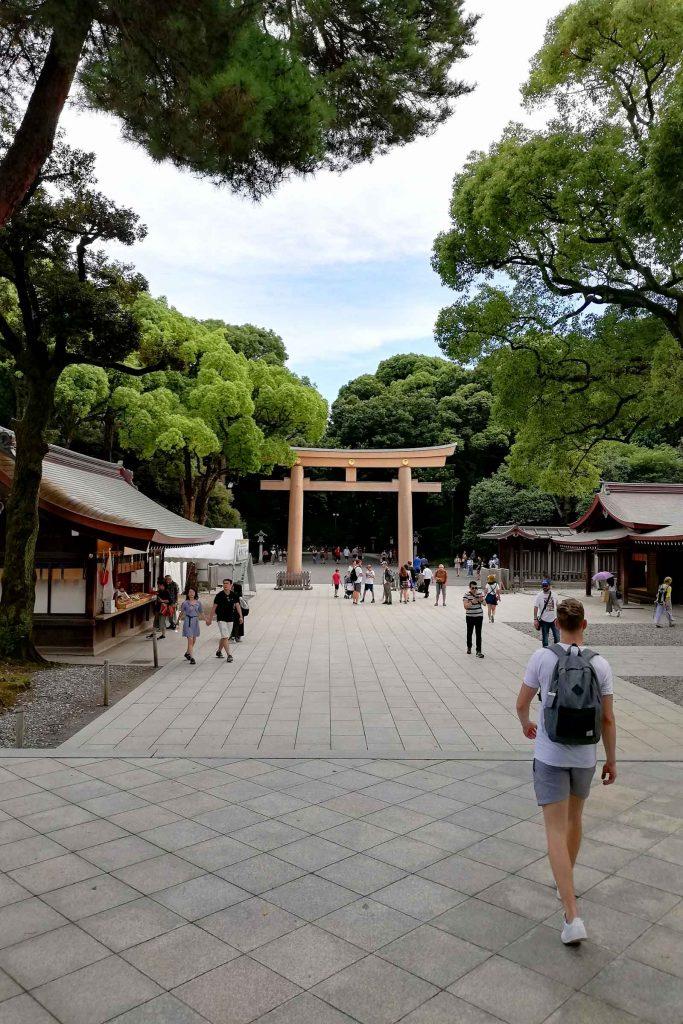 Bezienswaardigheden in Tokyo Meiji Shrine