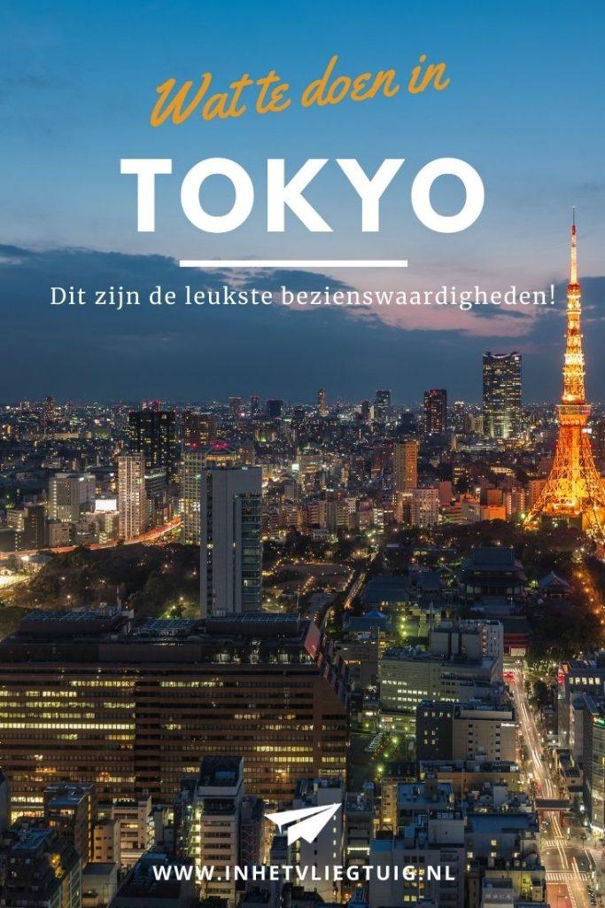 Dit zijn de leukste bezienswaardigheden in Tokyo