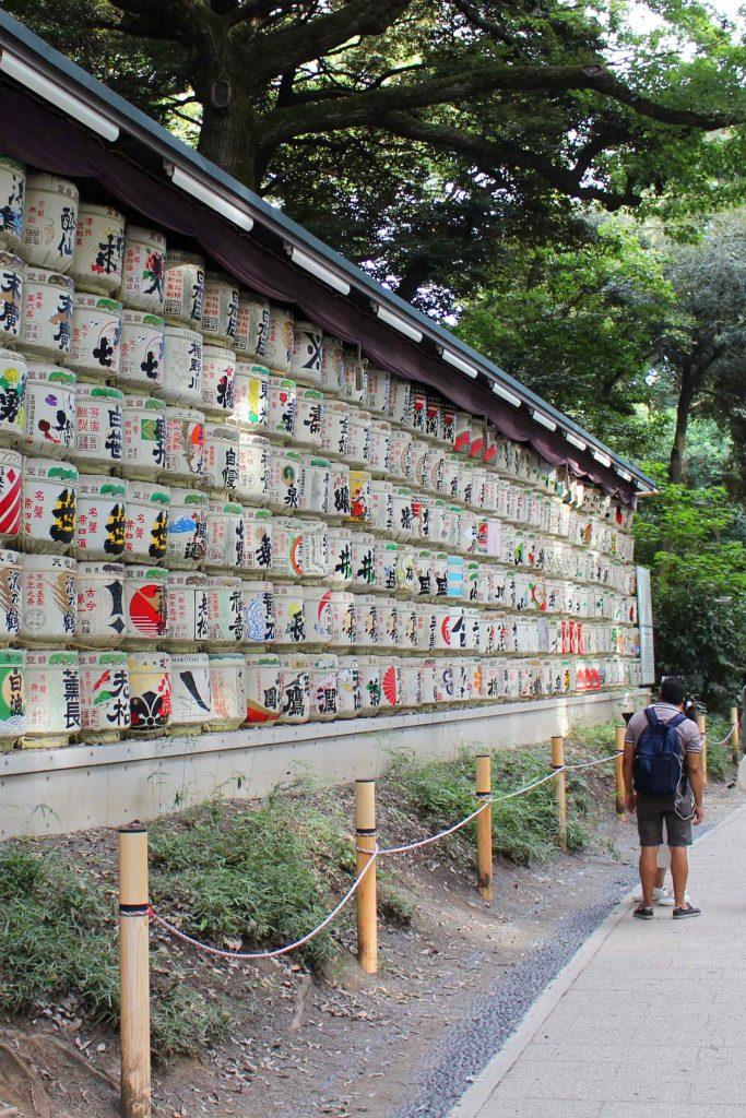 Tokyo bezienswaardigheden Meiji Shrine