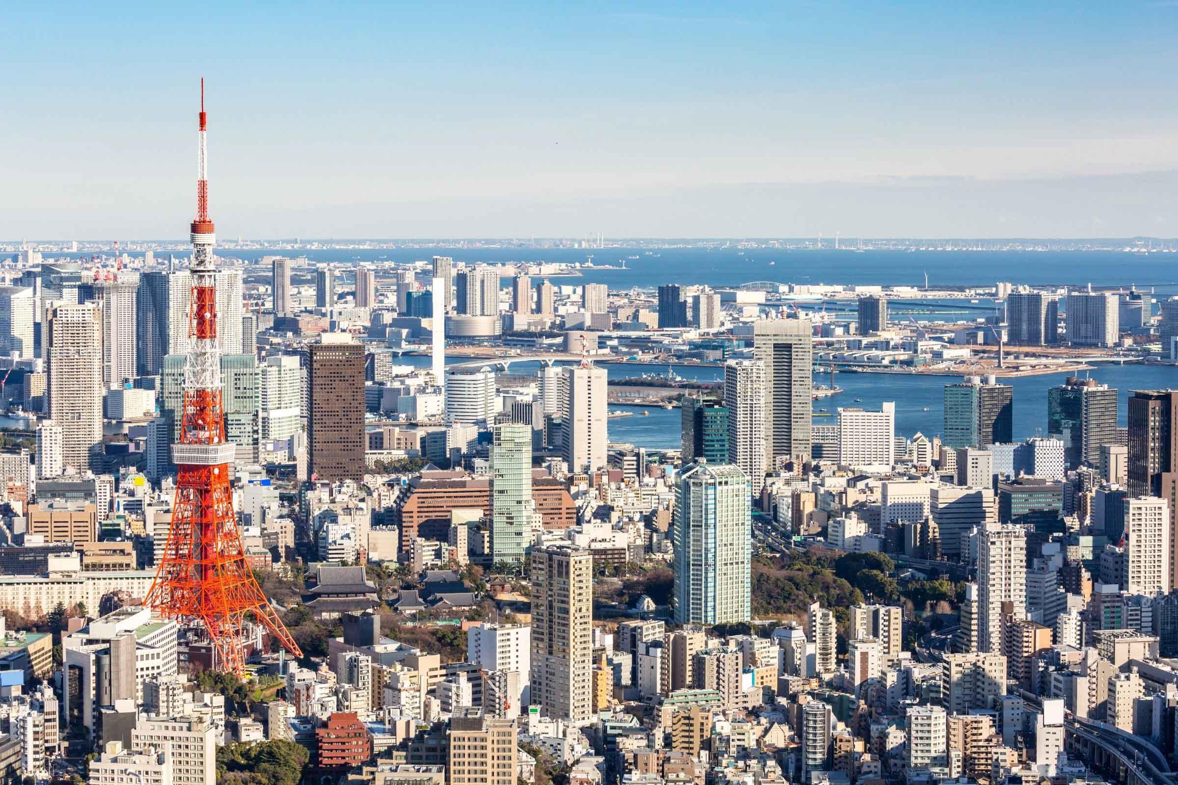 Bezienswaardigheden in Tokyo - Tokyo Tower