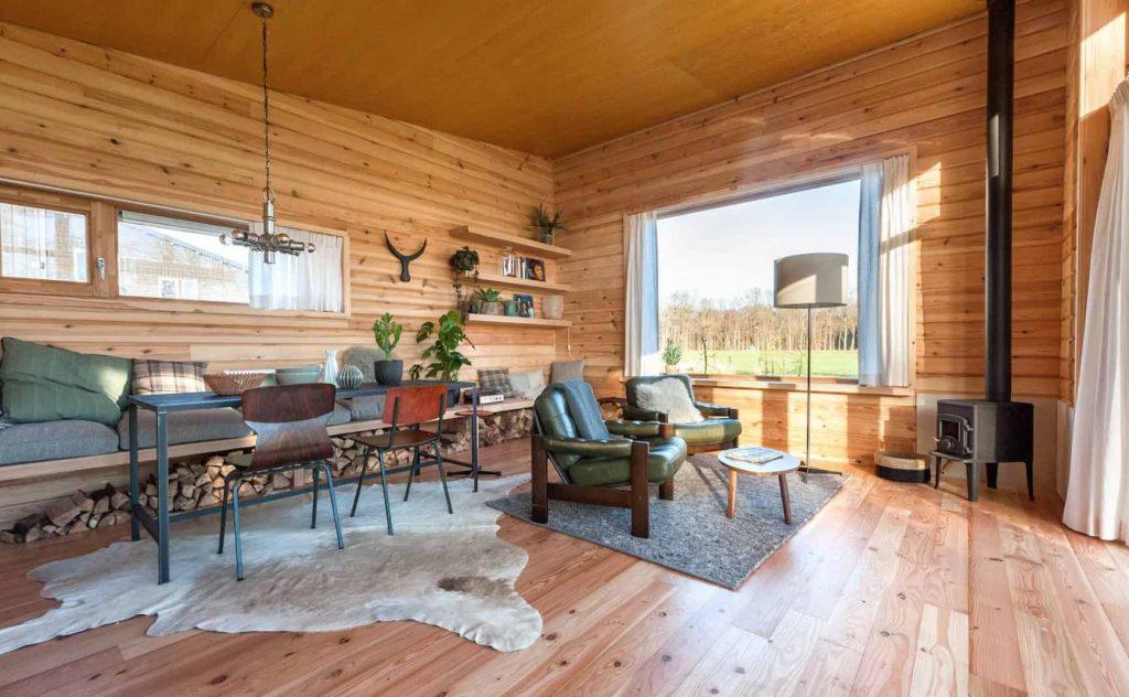 Vakantiehuisje met hottub op de Veluwe