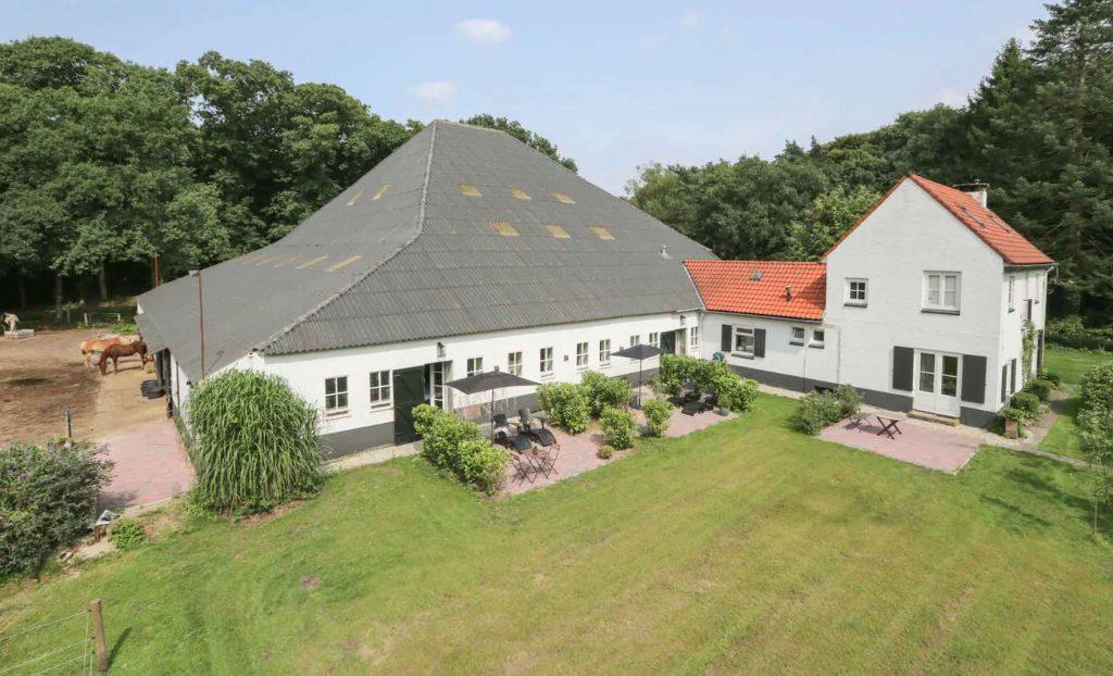 Luxe vakantieboerderij op de Veluwe