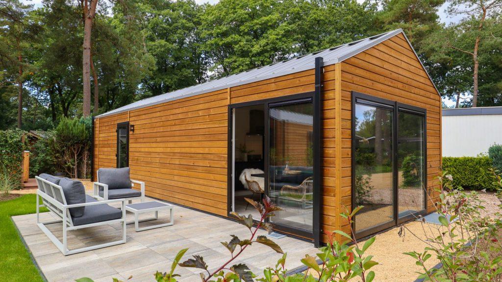 Wellness huisje met sauna op de Veluwe