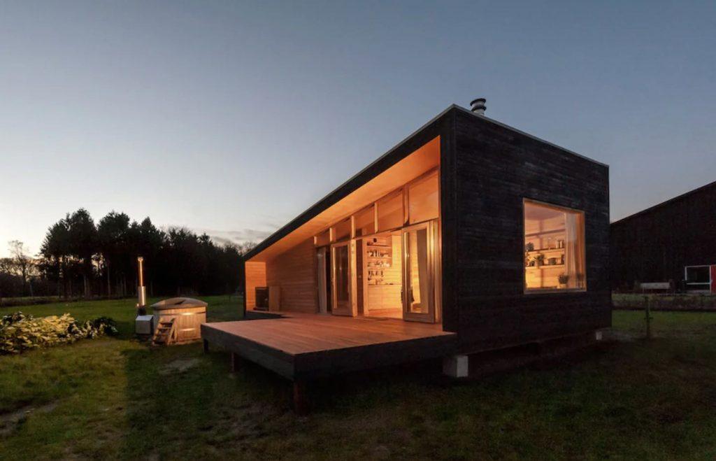Luxe vakantiehuisje op de Veluwe met hottub