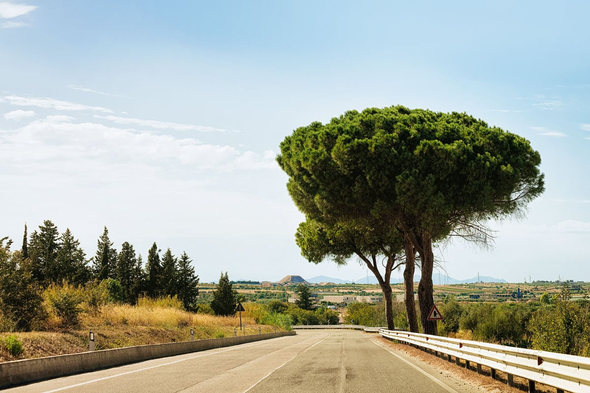 autohuur Sicilië wegen