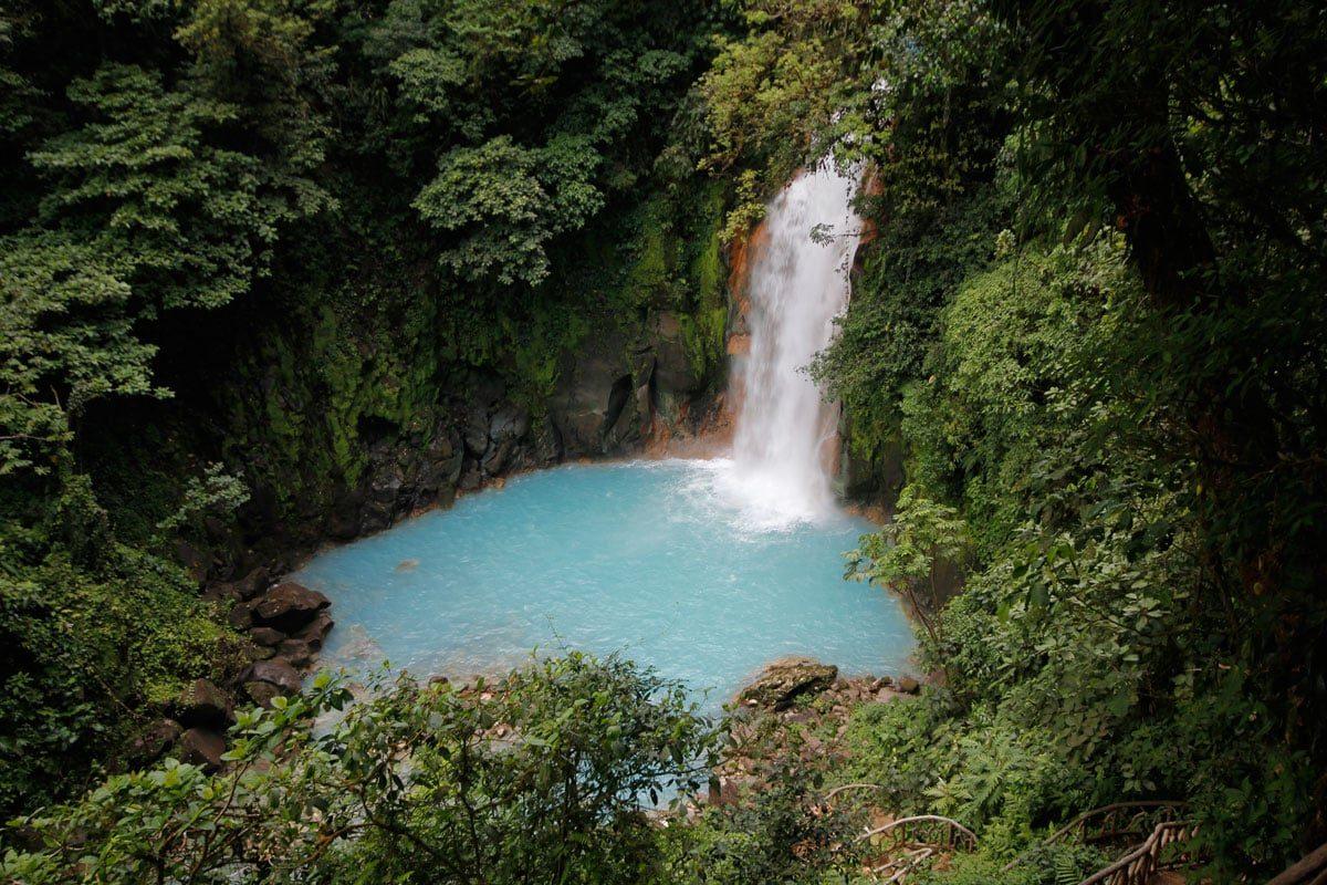 Costa Rica bezienswaardigheden - Rio Celeste