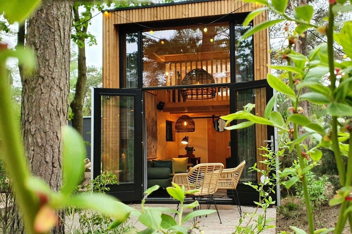 Glamping Nederland in een Tiny House