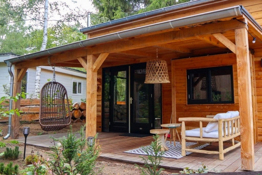 Overnachten in een tiny house in Nederland