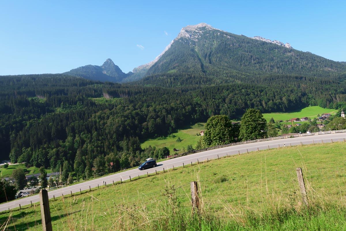 Duitse Alpenroute Berchtesgaden