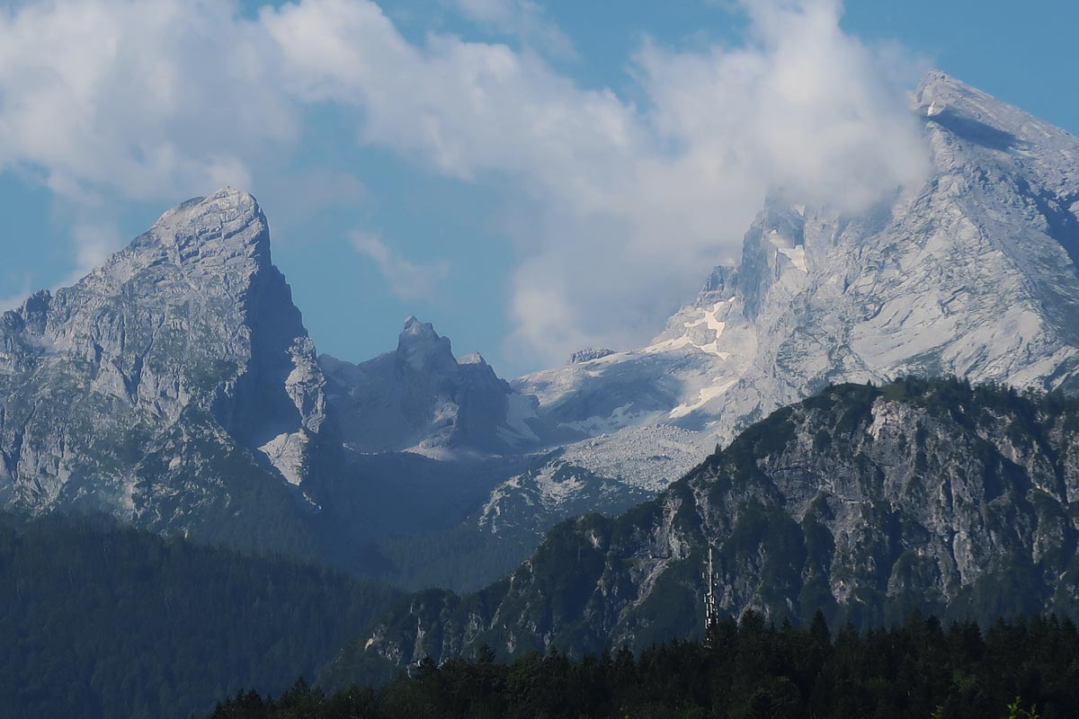 Großer Watzmann bermassief Berchtesgaden