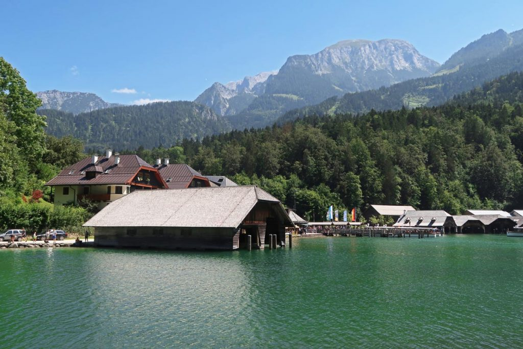 Königssee in Berchtesgaden Nationaal Park