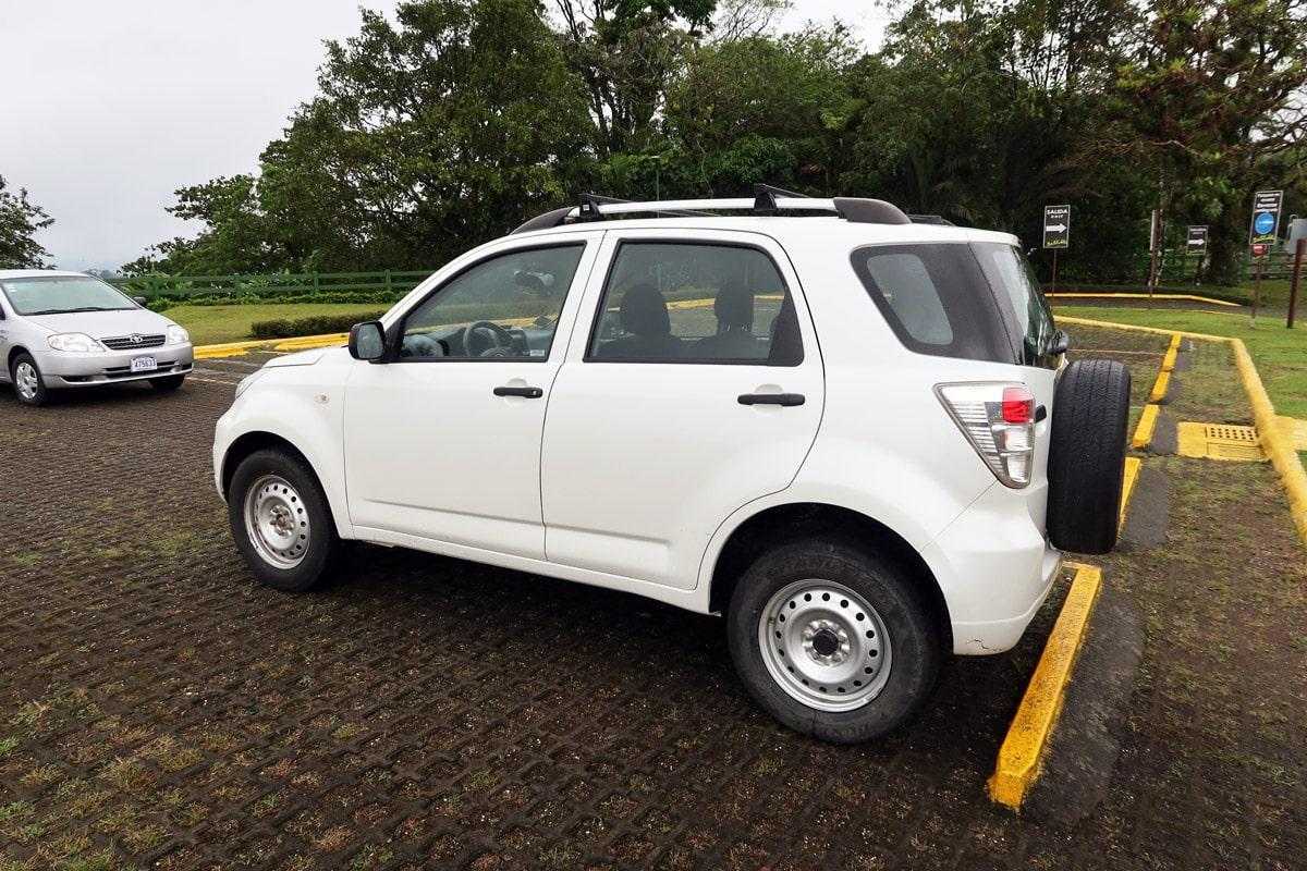 4x4 auto huren in Costa Rica