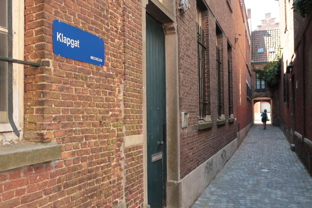 Wandelroute Mechelen Klein Begijnhof Klapgat