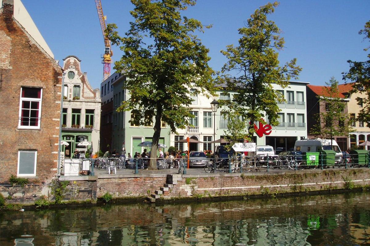 Uitgaan in Mechelen Vismarkt
