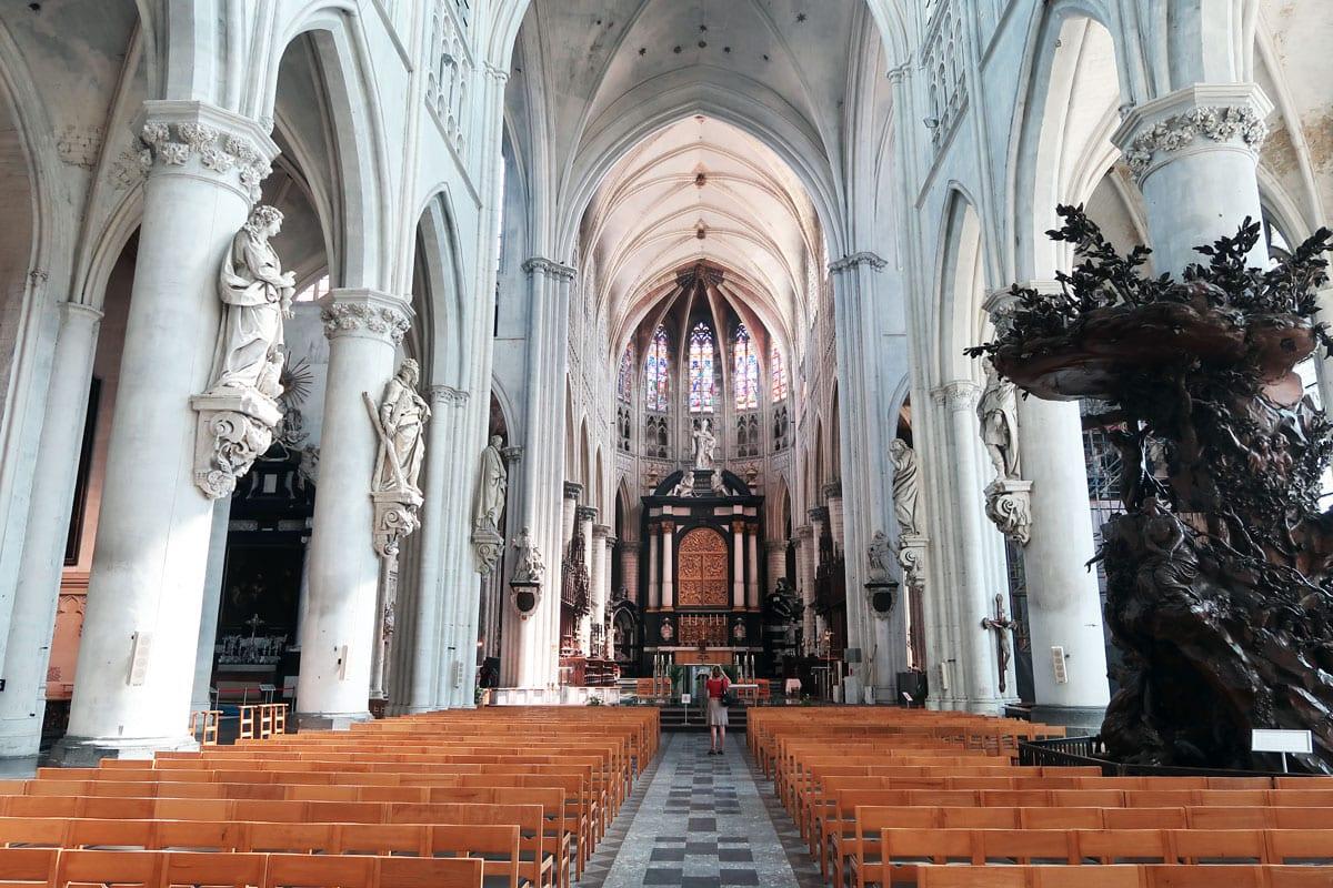 Bezienswaardigheden Mechelen - Sint Romboutskathedraal in mechelen